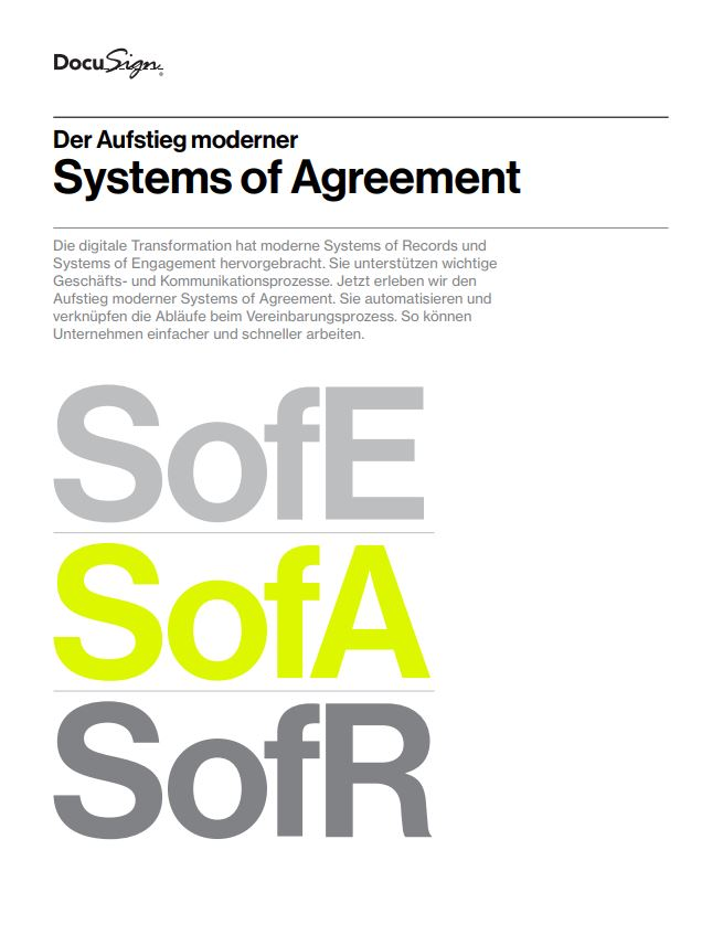 DocuSign System of Agreement