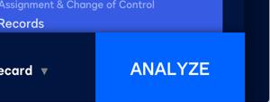 Screenshot der Wortanalyse, um darzustellen, wie einfach die Vertragsanalyse mit einem Klick sein kann.