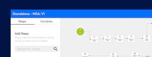 Screenshot, welcher die Integration in DocuSign CLM für das Workflow-Routing darstellt