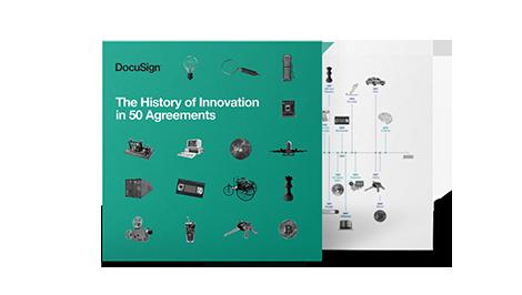 Die Geschichte der Innovation in 50 Vereinbarungen
