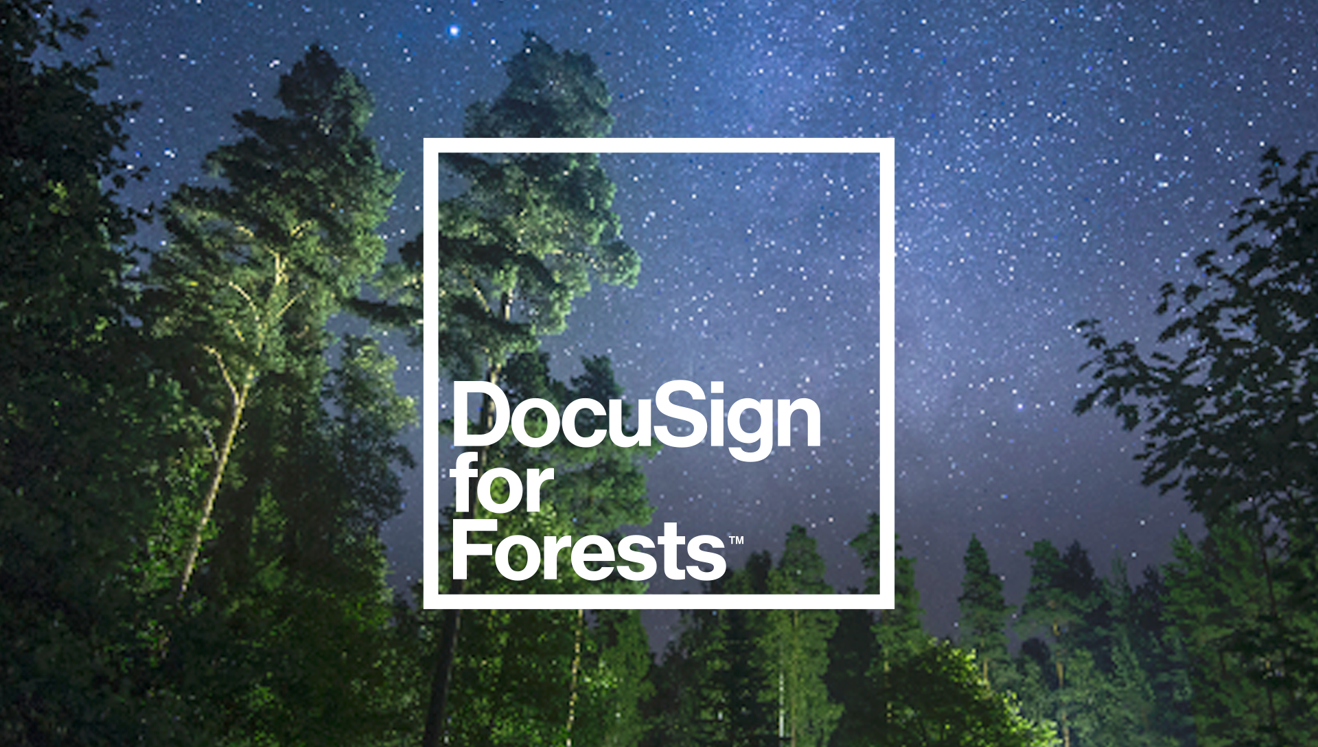 DocuSign for Forests Standbild