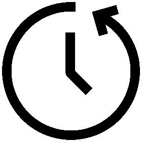 Bild von einer tickenden Uhr