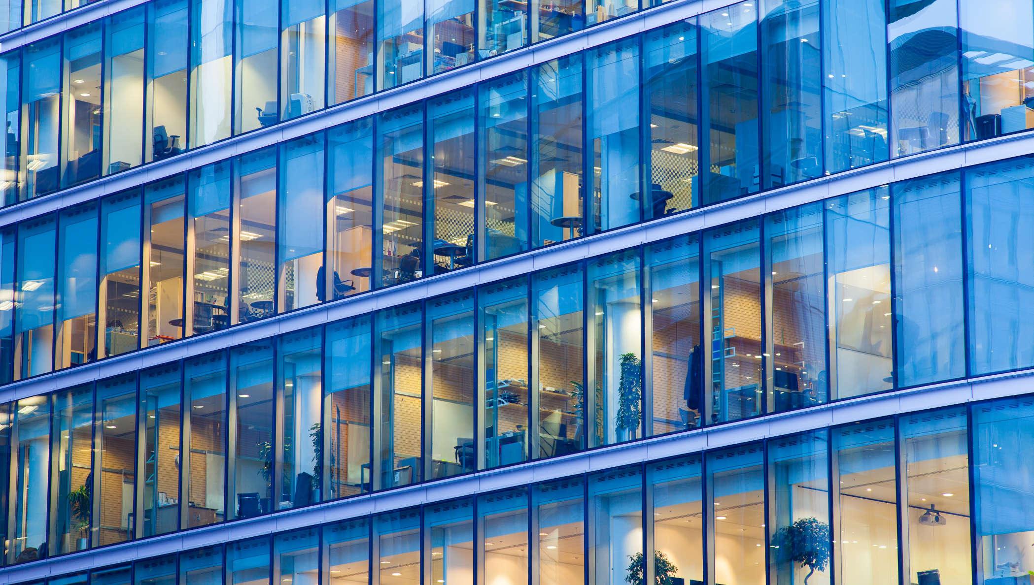 Bild eines Bürogebäudes