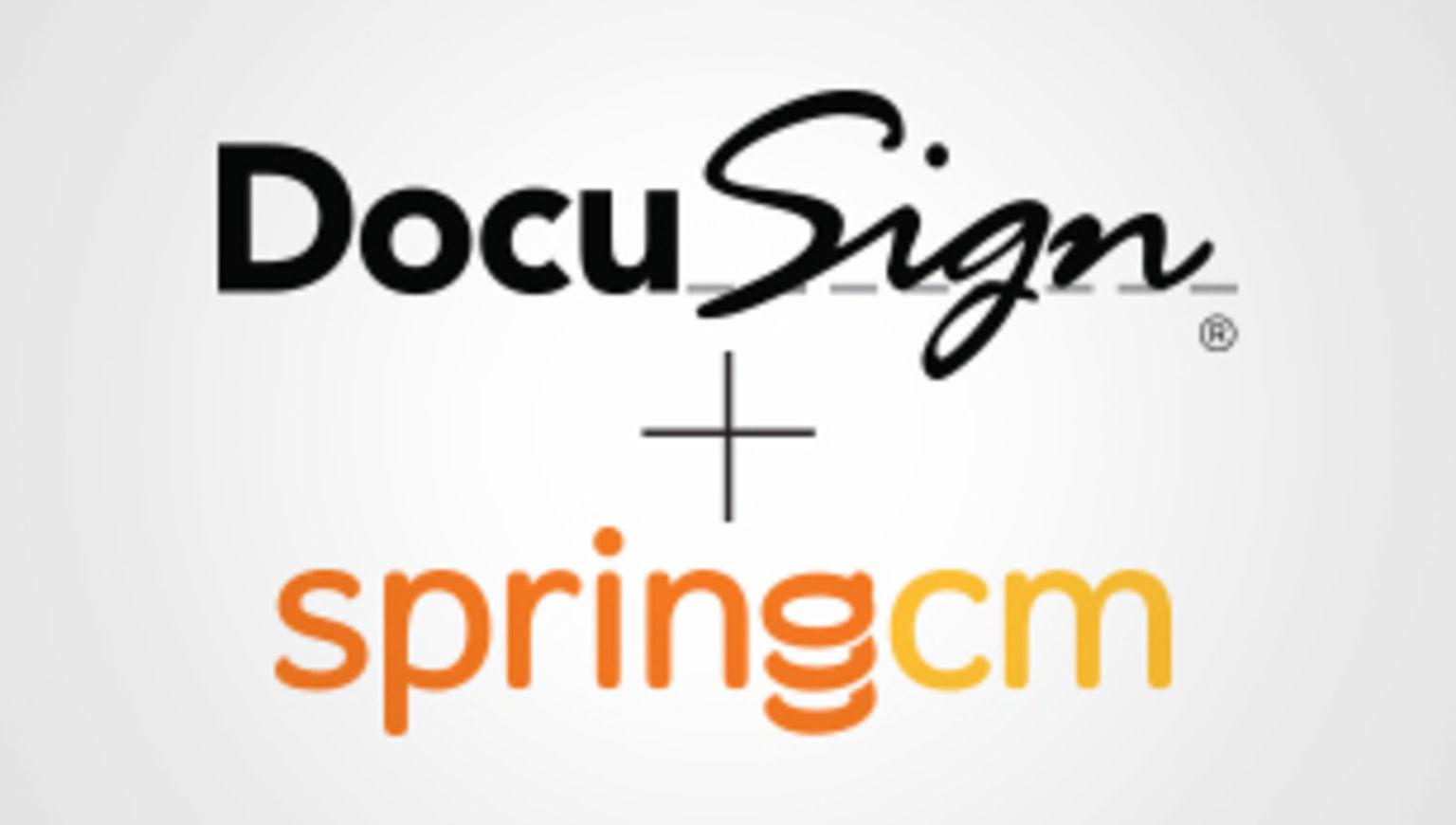 DocuSign unterzeichnet Vereinbarung zur Übernahme von SpringCM